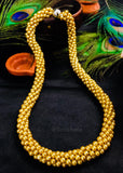 GOLDEN BEADS CRYSTAL MALA
