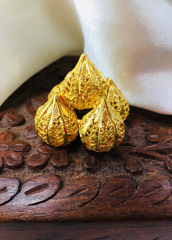 GOLD FINISH GANPATI MODAK