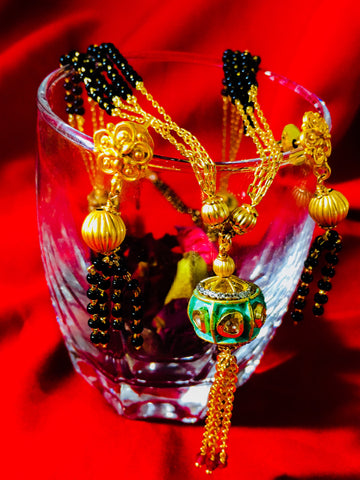BALL PENDANT ANTIQUE MANGALSUTRA