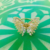 BUTTERFLY DESIGNER DIA RING