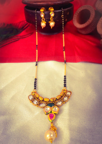 KUNDAN ANTIQUE MANGALSUTRA