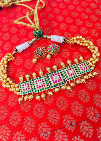 ETHNIC DESIGNER NECKLACE