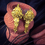 DESIGNER GOLD PLATED EARRING