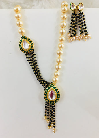 FASHIONABLE PEARL MANGALSUTRA