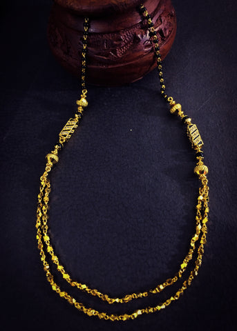 GOLDEN BEADS WITH LAYER MANGALSUTRA