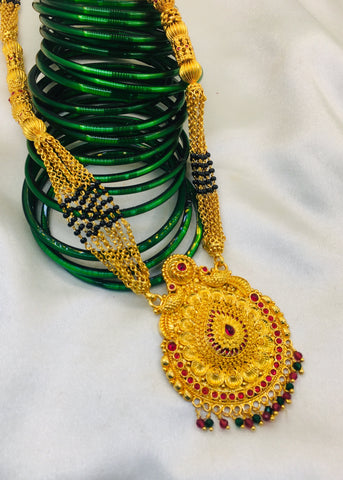 STYLISH TEMPLE MANGALSUTRA