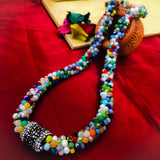 MULTI COLOUR CRYSTAL MALA
