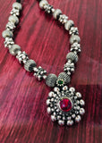 ADORABLE OXIDISED NECKLACE
