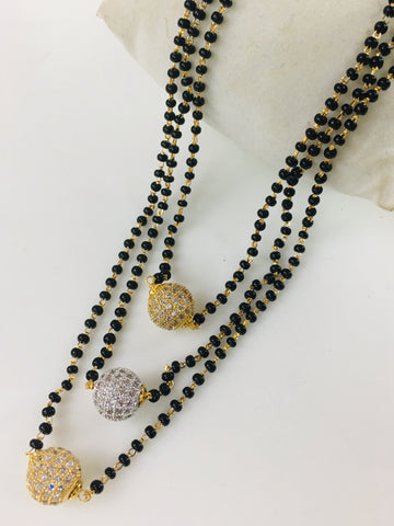 3 LAYER BEADS MANGALSUTRA
