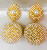 PEARL BALLS EARRINGS