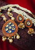 DROPLET KUNDAN NECKLACE