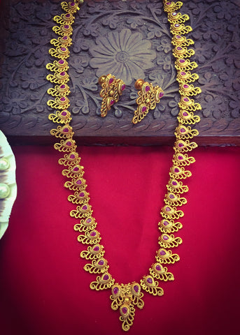 FANCY TEMPLE NECKLACE