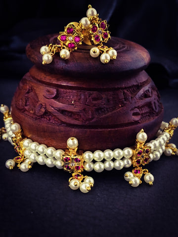 PEARL CHOKAR NECKLACE