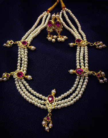 Tanmani Moti Necklace | Buy Admirable Tanmani Online | Sonchafa
