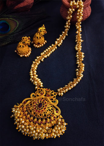 PEARL PESHWAI NECKLACE