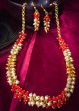 PEARL CORAL NECKLACE
