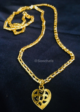 OM PENDANT WITH CHAIN