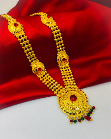 CIRCULAR GANPATI NECKLACE