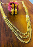 3 LAYER FLOWER GOLD NECKLACE