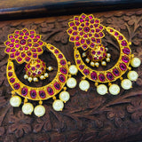 CHANDBALI WITH JHUMKI EARRINGS