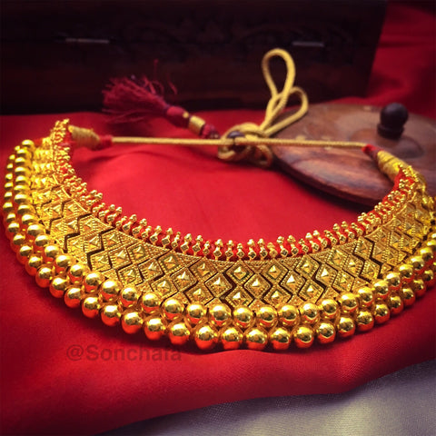 TRADITIONAL VAJRATIK NECKPIECE