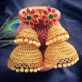 DOUBLE LAYER JHUMKA