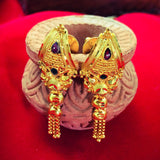 FANCY GOLD PLATED EARRINGS
