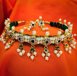 Sonchafa : Buy Puneri Chinchpeti Necklace Online | Traditional Necklace
