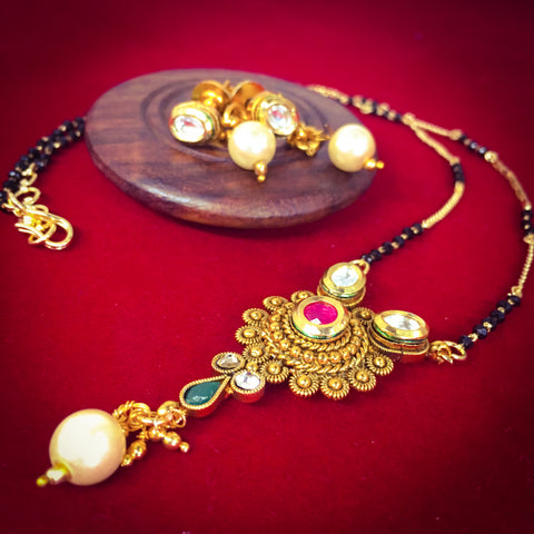 CIRCLE DESIGN MANGALSUTRA