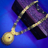 MULTI LAYER WITH BLOSSOM PENDANT MANGALSUTRA