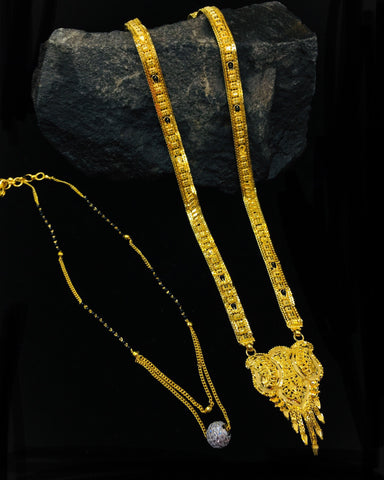 1 Gram Gold Collection Tagged Mangalsutra Sonchafa,Principles Of Two Dimensional Design