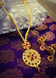 SIMPLE GOLD PLATED NECKLACE