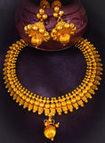 TRENDY GOLDEN BEADS NECKLACE
