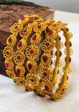 FANCY FLOWER DESIGN BANGLES