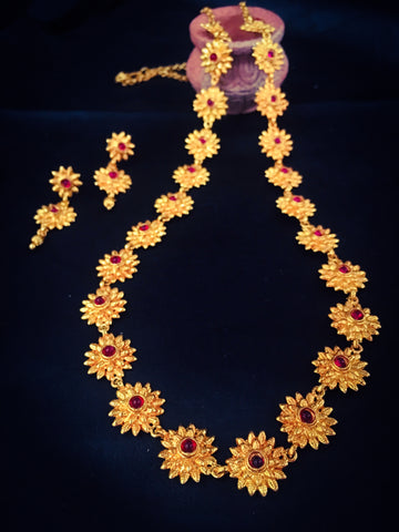 BLOSSOM NECKLACE SET