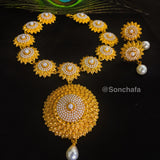 ANTIQUE PEARL BEADS NECKLACE