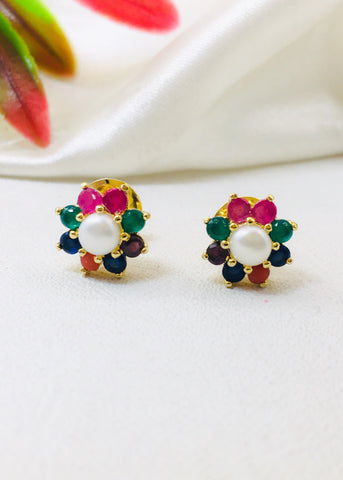 SIMPLE NAVRATAN STUDS