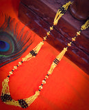 GOLD FINISH STYLISH MANGALSUTRA