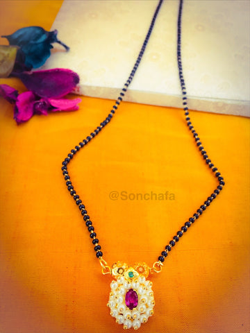 PEARL BEADS MANGALSUTRA