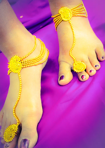 DESIGNER PAYAL WITH TOE RING