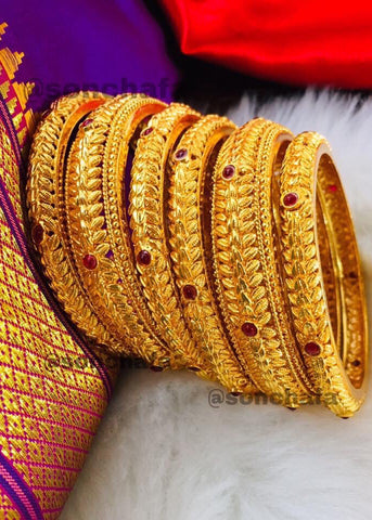 PESHWAI BANGLES SET OF SIX