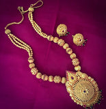 FLOWER PESHWAI NECKLACE