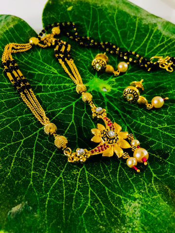 FLORAL ANTIQUE MANGALSUTRA