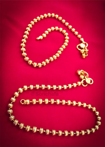 GOLDEN BEADS PAYAL