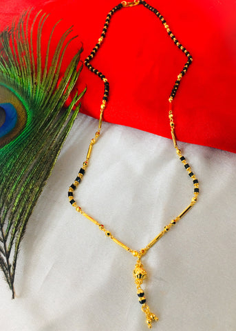 GOLD PLATED FANCY MANGALSUTRA