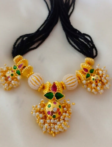 PEARL BUNCH MANGALSUTRA