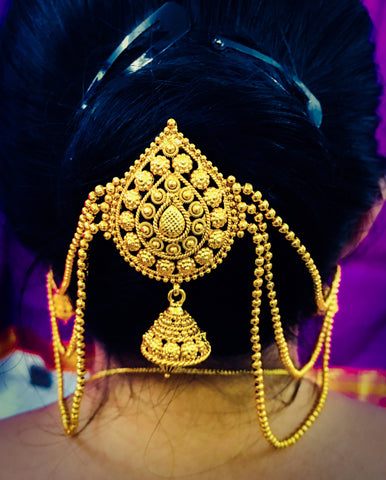ANTIQUE JUDAPIN WITH JHUMKI EARRINGS