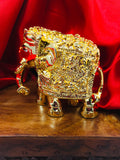 GOLD FINISH GAJANTLAXMI