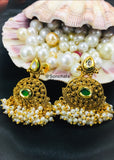KUNDAN WITH PEARL EARRINGS