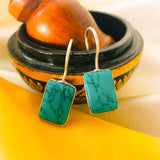TURQUOISE DESIGN EARRINGS